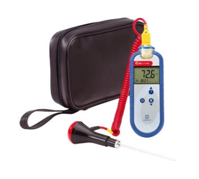 Comark C28/P4 Type K Waterproof Thermocouple Probe, PK15M Probe & AC135 Case