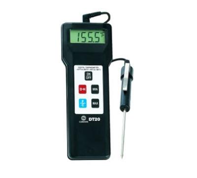 Comark DT20 Hand Held Digital Temperature Tester, Plus/Minus 2-Degrees F