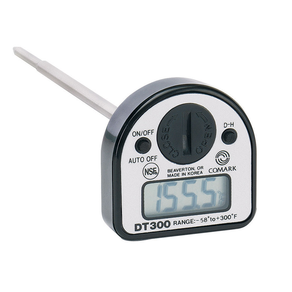 Comark DT300 Digital Pocket Thermometer w/ Data Hold Button