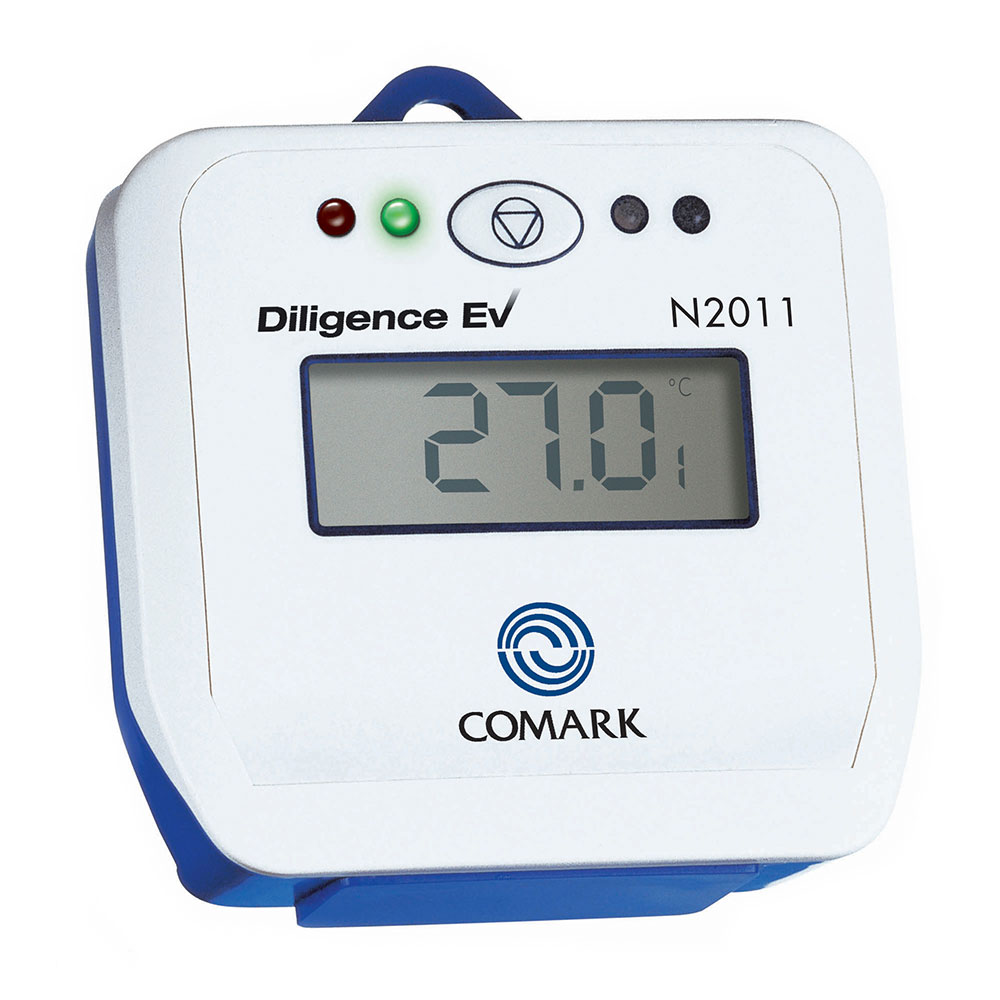 Comark N2011 Diligence EV Thermistor Data Logger w/ Internal Sensor
