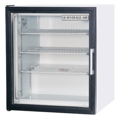 Beverage Air CF3-1-W 23-in Countertop Reach-In Display Freezer w/ Glass Door