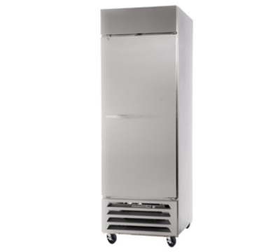 Beverage Air HBF23-1 Bottom Mount Reach-In Freezer w/ 1-Solid Door, Digital, All Stainless, 23-cu ft