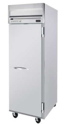 Beverage Air HFP1-1S Freezer, 1-Solid Full Door, Stainless & Aluminum Interior, 24-cu ft