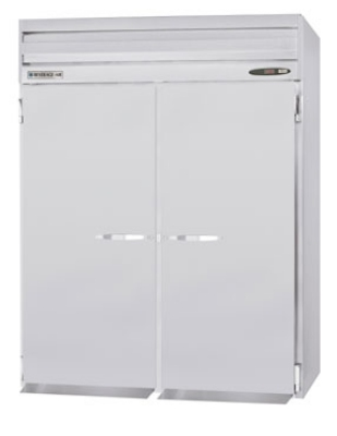 Beverage Air PRI2-1AS 2-Section Roll-In Refrigerator, All Stainless, 73.4-cu ft