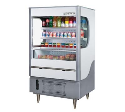 Beverage Air VM12-1-G 35-in Open-Air Merchandiser w/ Night Curtain, 12-cu ft, Gray