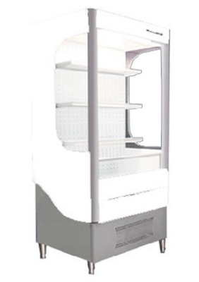 Beverage Air VM12-1-W 35-in Open-Air Merchandiser w/ Night Curtain, 12-cu ft, White
