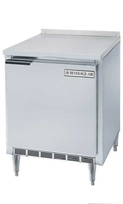 Beverage Air WTF27A-17 27-in Worktop Freezer w/ Solid Door, 7.3-cu ft