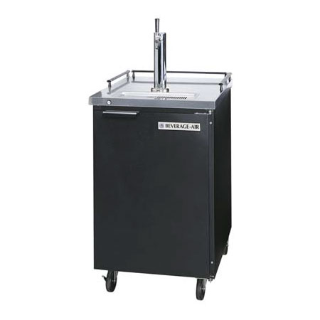 Beverage Air BM23-B-28 Draft Beer Cooler, Portable, Door Type, 1 Keg, No Draft Arm, Black