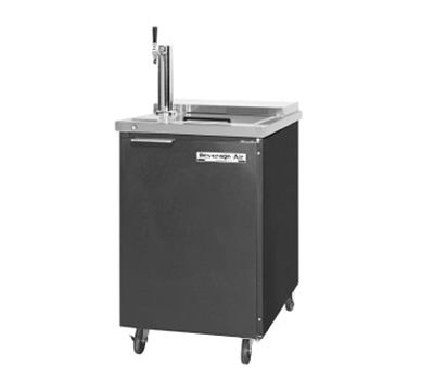 Beverage Air BM23C-B Draft Beer Cooler, Portable, Club Type, 1 Keg, Black Top w/ SS Lid