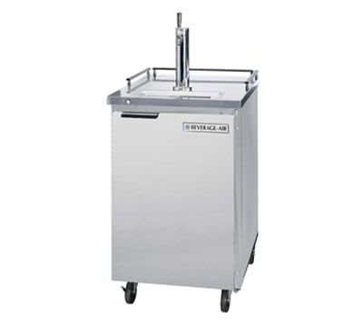 "Beverage Air BM23-S-31 24"" Draft Beer System w/ (1) Keg Capacity - (1) Column, Stainless, 115v"