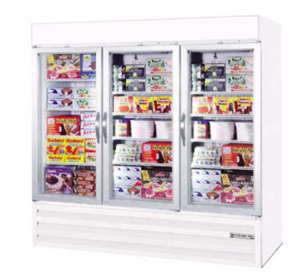 Beverage Air CFG74-5 78 in Freezer Merchandiser 3 Glass Doors Restaurant Supply