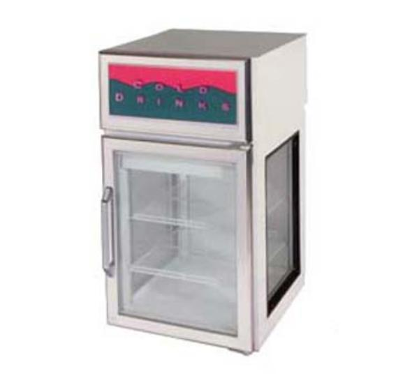 Beverage Air CR5GE-1W-G Refrigerator, Reach-In Display, Countertop, Glass Door/Sides