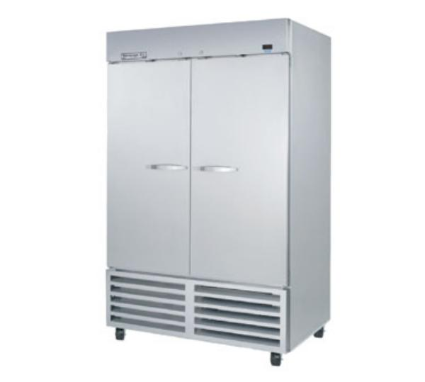 Beverage Air KF48-1AS Reach-In Freezer, 2 Section, S/S Doors, Energy Star, 44.9 cu ft