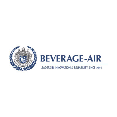 Beverage Air BB58RG-1-S Refrigerated Backbar Storage Cabinet w/ 2-Sections & 2-Glass Doors, Stainless, 23.8-cu ft
