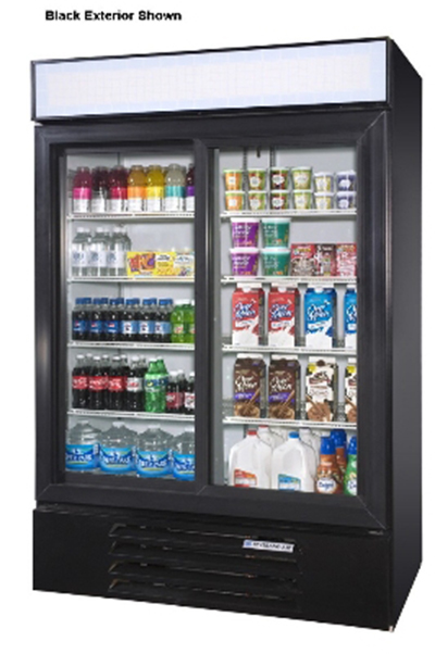 """Beverage Air LV451W 52"""" Two-Section R"""