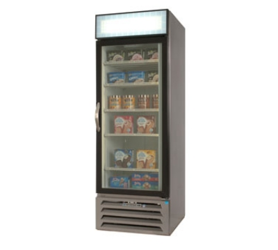 Beverage Air MMF231B Freezer Merchandiser w/ 1-Section & 1-Glass Door, 23-cu ft, Black