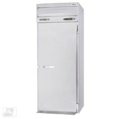 Beverage Air PFI1-1AS Digital Roll In Freezer, Full-Height Door, All Stainless, 34.3-cu ft
