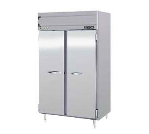 Beverage Air PRF24-24-1AS02 Refrigerator/Freezer, Reach-In, 2 Section, SS Doors