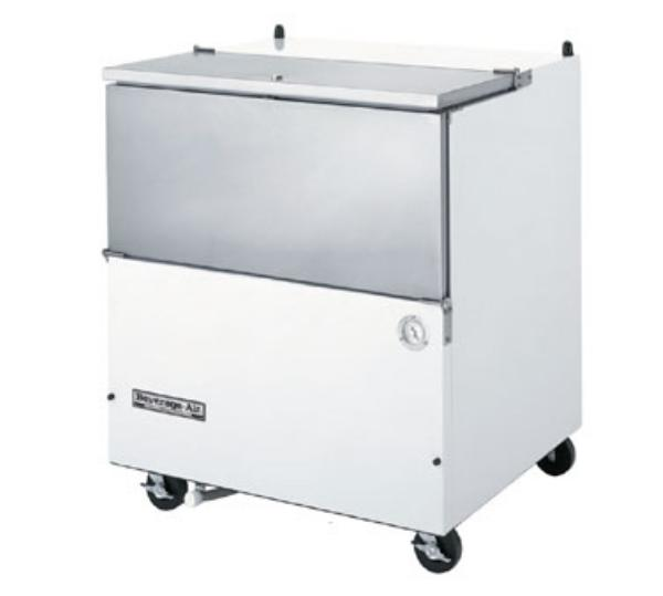 Beverage Air SM34N-S 34 in School Milk Cooler, SS, (1001) 1/2 pts