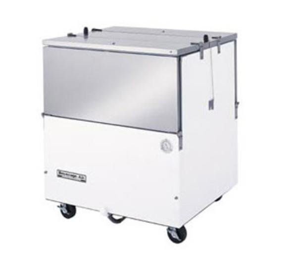 Beverage Air ST34N-W 8-Crate Milk Cooler - Side Lift Doors, 115v