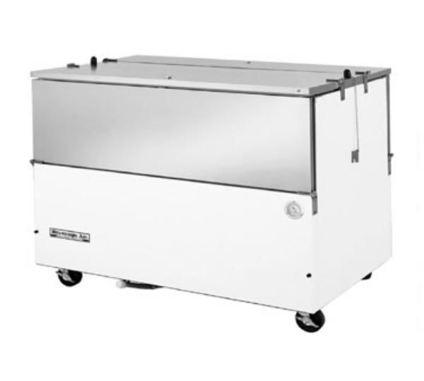 Beverage Air ST58N-S 16-Crate Milk Cooler - Side Lift Doors, 115v