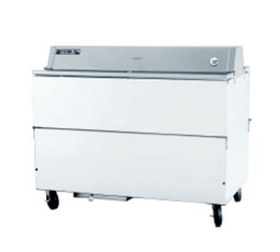 Beverage Air STF581W02 58-in Dual Access Milk Cooler, Stainless Interior, (1539) 1/2-pt