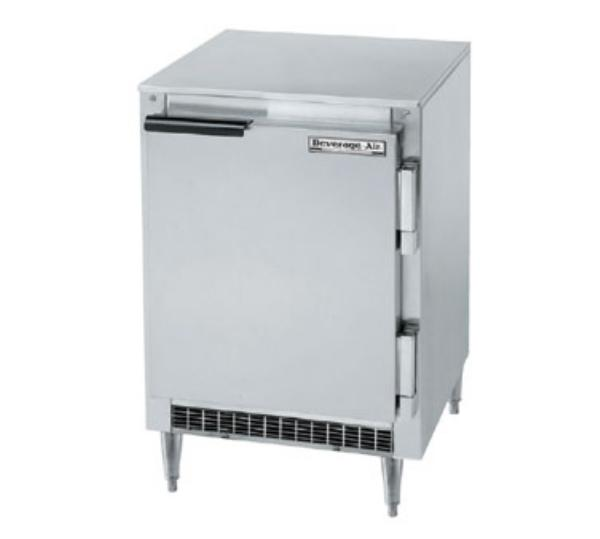Beverage Air UCF20 20 in Undercounter Freezer, 1 Section/Door, 1/4 HP