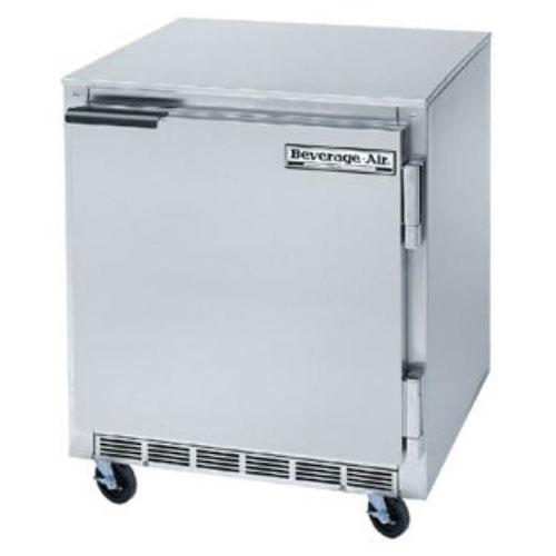 Beverage Air UCF27A 27 in Undercounter Freezer, 1 Section/Door, 1/4 HP
