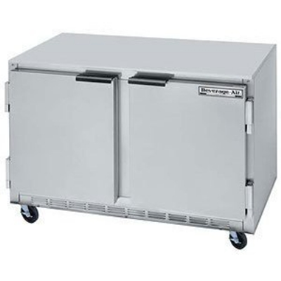 Beverage Air UCF48A-23 13.9-cu ft Undercounter Freezer w/ (2) Sections & (2) Doors, 115v