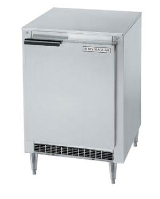 Beverage Air UCR20Y 20-in Undercounter Refrigerator, 1-Section & Door, 1/6 HP, 115 V