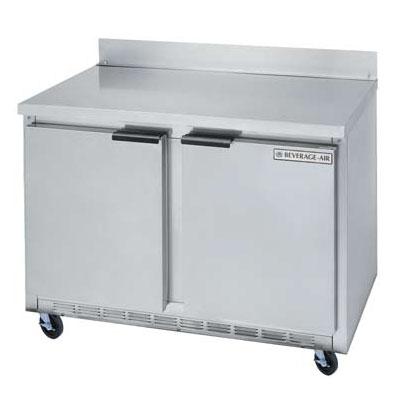 Beverage Air WTR36A Worktop Refrigerator w/ Self-Close Doors, 8.5-cu ft, Stainless