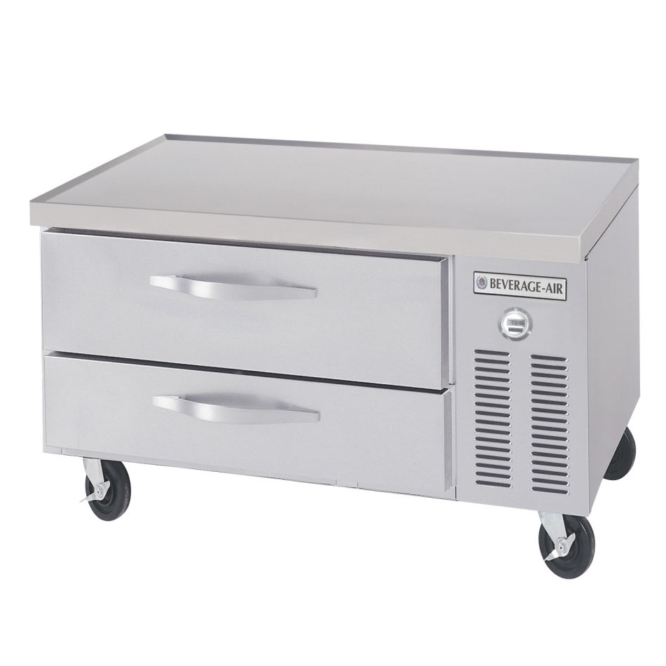 Beverage Air WTRCS361 Refrigerated Worktop Chef Base w/ 2-Drawers, 36-in Top