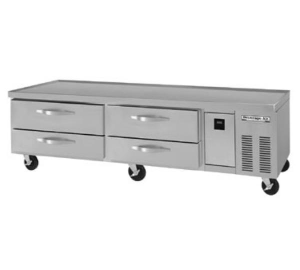 "Beverage Air WTRCS84-1 84"" Chef Base w/ (4) Drawers - 115v"
