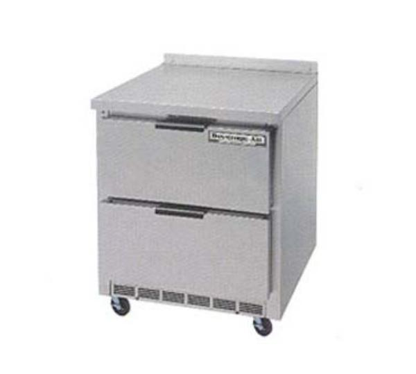 Beverage Air WTRD27A-2 27 in Refrigerator, 35.5in H Work Top, 1 Section, 2 Drawers, 1/6 HP
