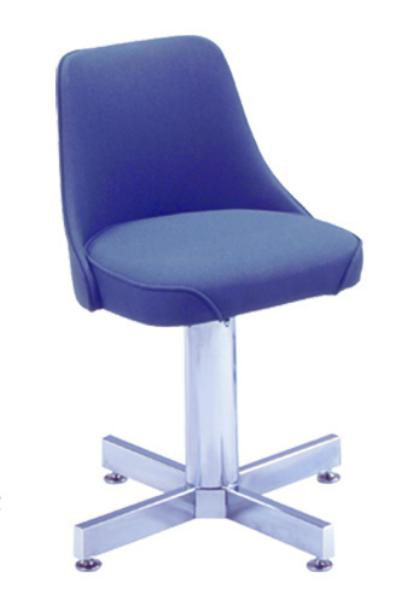 Vitro 907242 Stacker Series Chair, Club Chair, 2 in Waterfall Seat, Swivels 360
