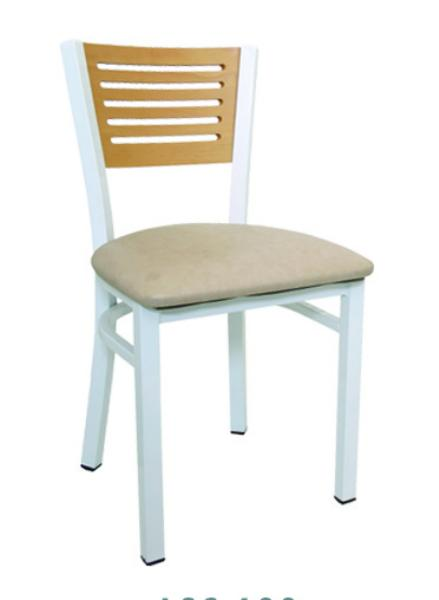 Vitro LSC600 Legend Series Chair, 5 Slotted Back, Metal Frame