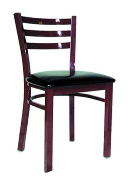 Vitro LSC750 Legend Series Chair, 3 Rung Ladder Back, Metal Frame