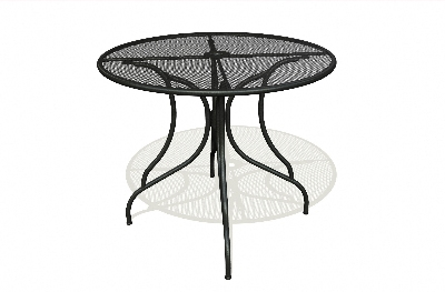 Vitro MMT-125-30 50 Round Micro Mesh Table Top 30-in Charcoal Restaurant Supply