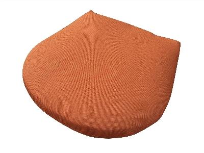 Vitro SC-SEA 5133 Fade Resistant Seaport Seat Cushion 18 x 17.5-in W Brick Restaurant Supply