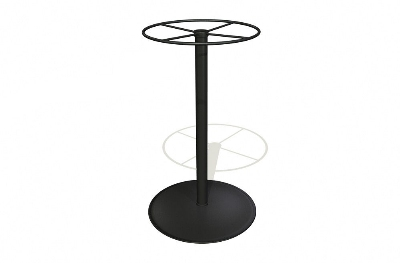 Vitro SPB-3042 70 Pub Table Base, 41-in High, Platinum