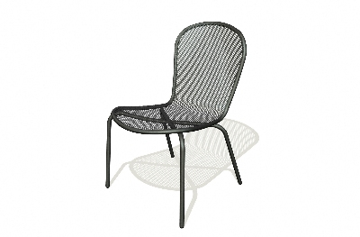 Vitro SSC-100 50 Seaport Side Chair, Charcoal