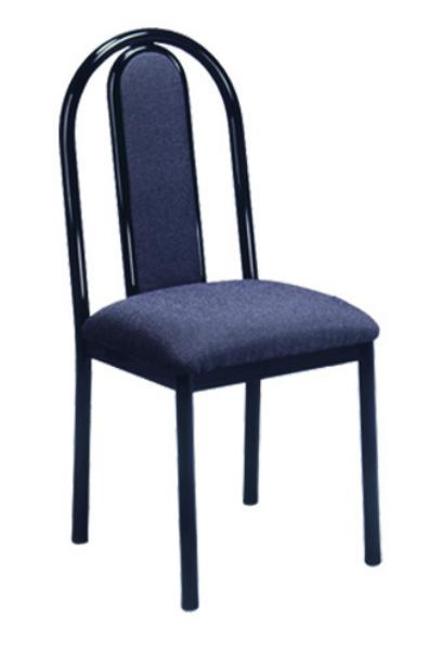 Vitro UHPPS Omni Series Chair, Upholstered Hairpin Back, Metal Frame
