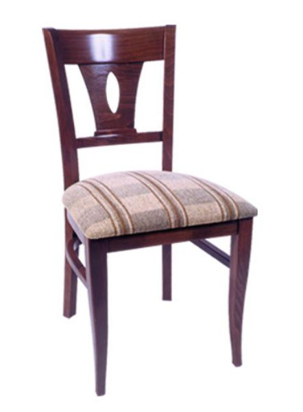 Vitro WLS190 Woodland Series Chair, Lido Back, Upholstered Seat, Wood Frame