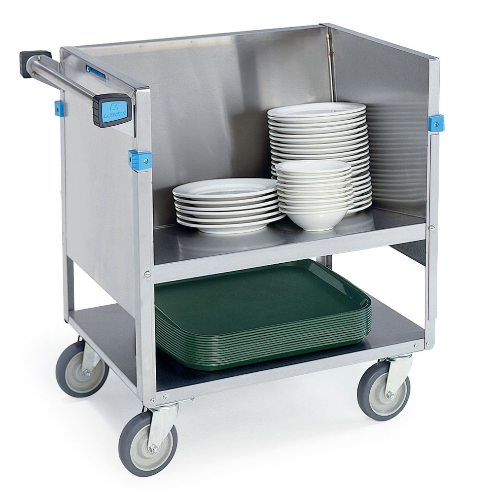 Lakeside 405 Double Shelf Store-N-Carry Dish Truck For (100) 9-in or (66) 5-7-in Plates