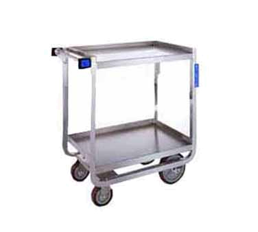 Lakeside 521 2-Shelf Utility Cart w/ Handle & Casters, 700-lb Capacity