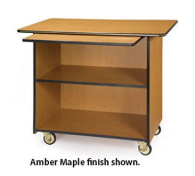 Lakeside 67109 45.5-in Wood Composite Enclosed Service Cart w/ 2-Shelves