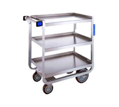 Lakeside 949 Utility Cart w/ (3) 24 x 36-in Shelves & Angle Frame, 1000-lb