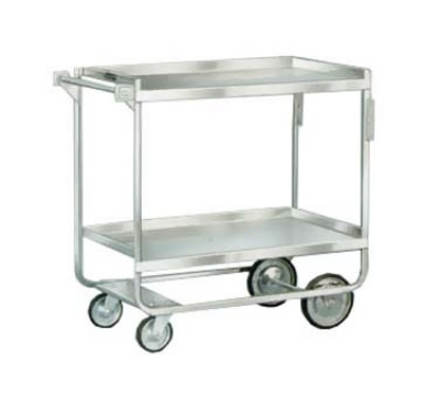 Lakeside 543 Utility Cart w/ (2) 21 x 33-in Shelves, Angle Frame, 700-lb Capacity