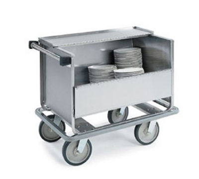Lakeside 705 2-Column Store N Carry Dish Truck w/ (100) 9-in Plate Capacity