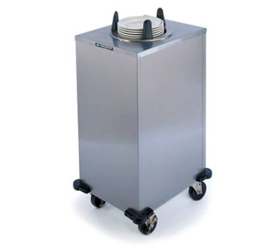 Lakeside 6111 Mobile Heated Cabinet Dish Dispenser For 11-in Dish, 120 V